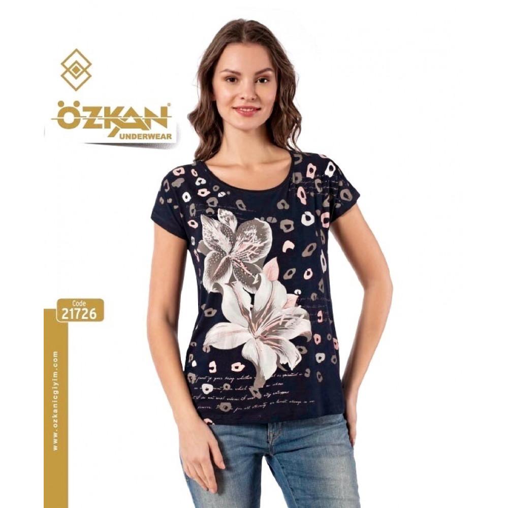 Женская футболка 21726 Ozkan