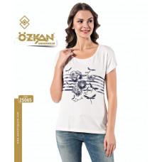 Женская футболка 25065 Ozkan