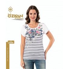 Женская футболка 25106 Ozkan