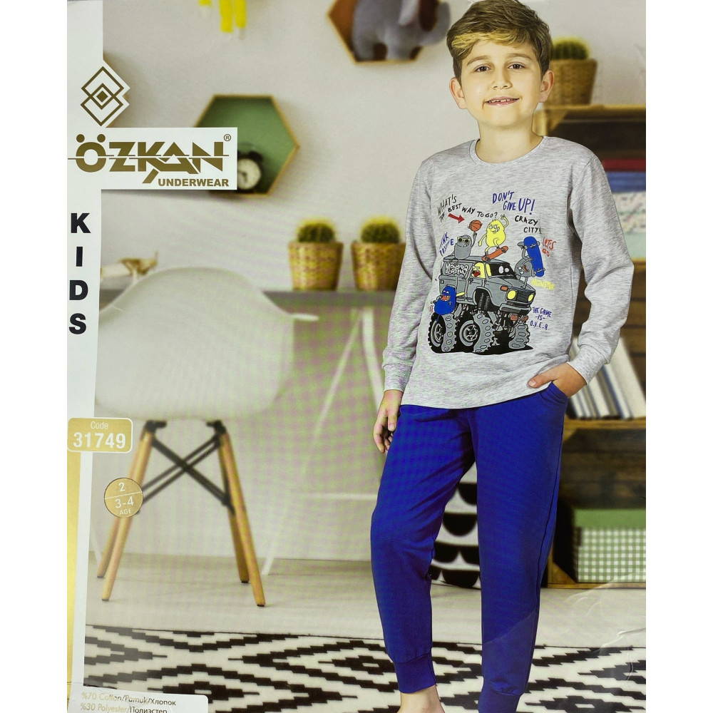 Детский трикотаж для мальчиков 31749 Ozkan