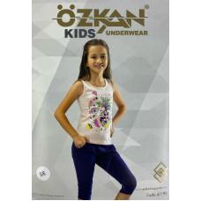 Детский трикотаж для девочек 41190 Ozkan