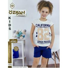 Детский трикотаж для девочек 41583 Ozkan