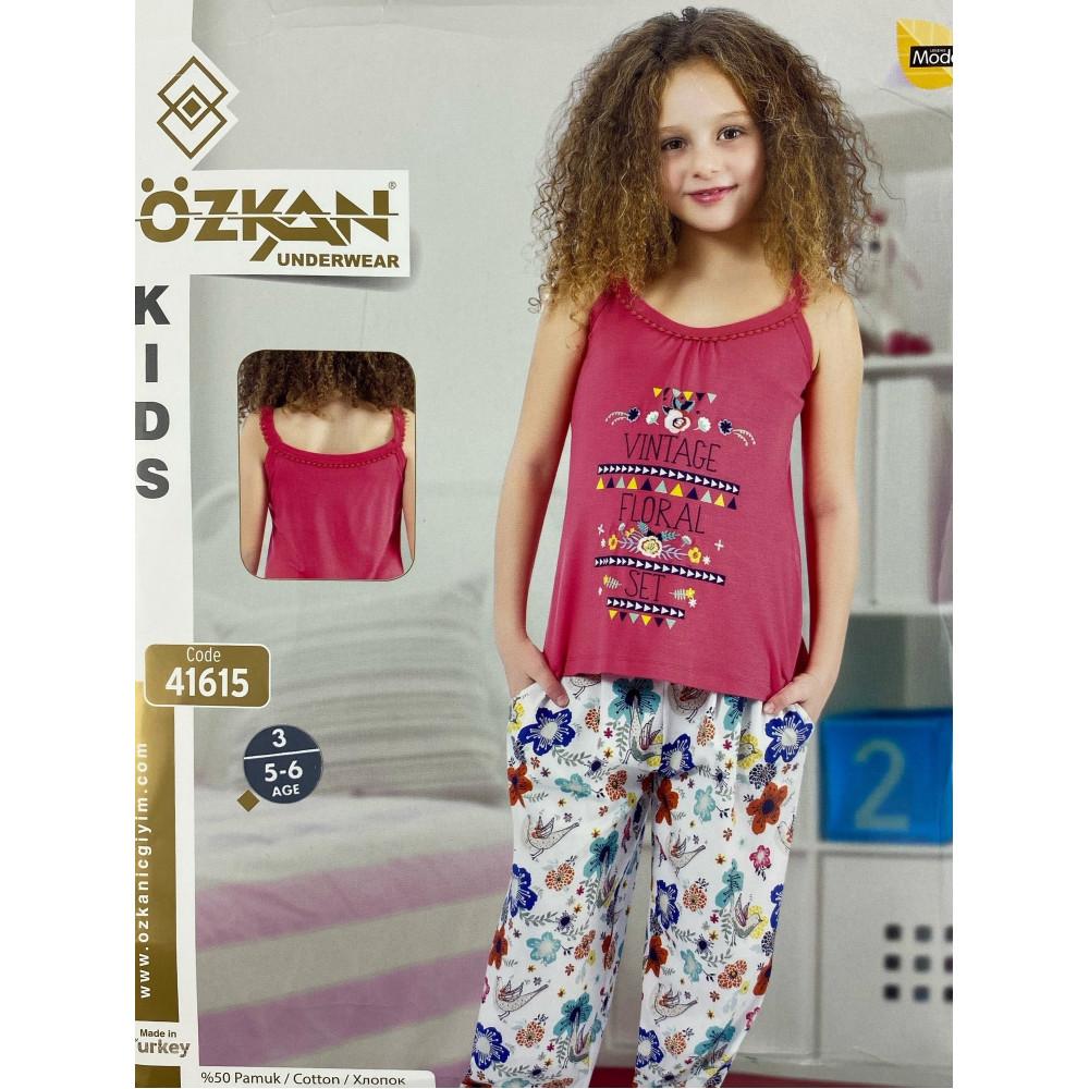 Детский трикотаж для девочек 41615 Ozkan