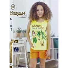 Детский трикотаж для девочек 41634 Ozkan