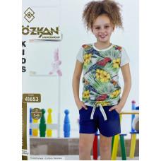 Детский трикотаж для девочек 41653 Ozkan