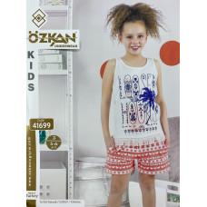 Детский трикотаж для девочек 41699 Ozkan
