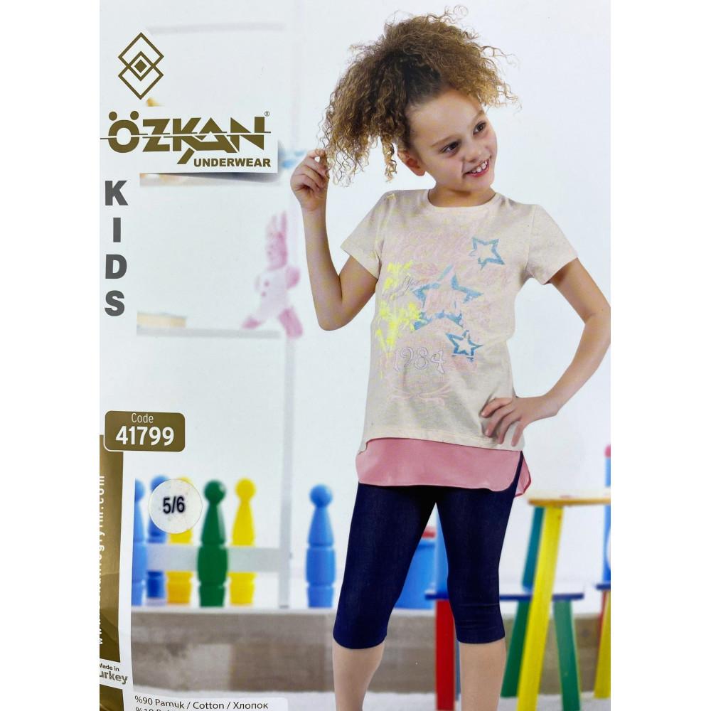 Детский трикотаж для девочек 41799 Ozkan