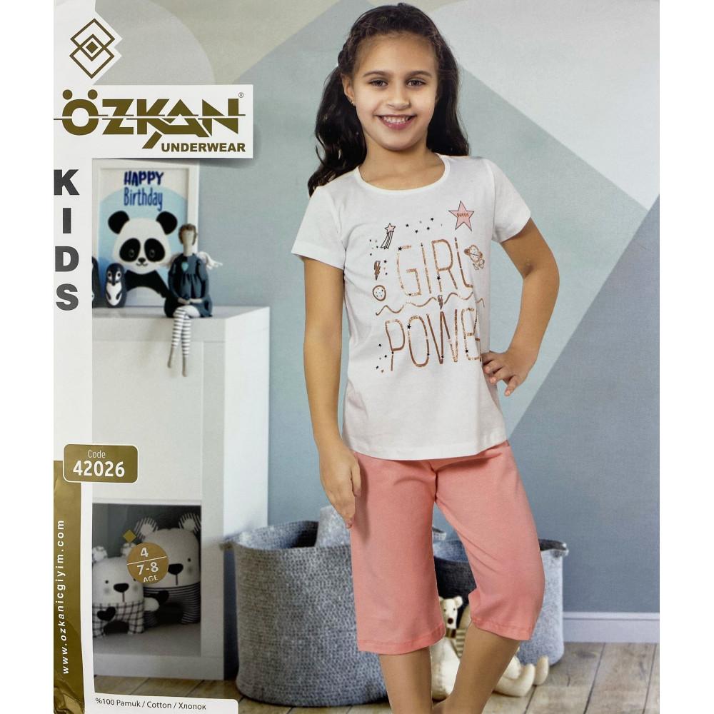 Детский трикотаж для девочек 42026 Ozkan