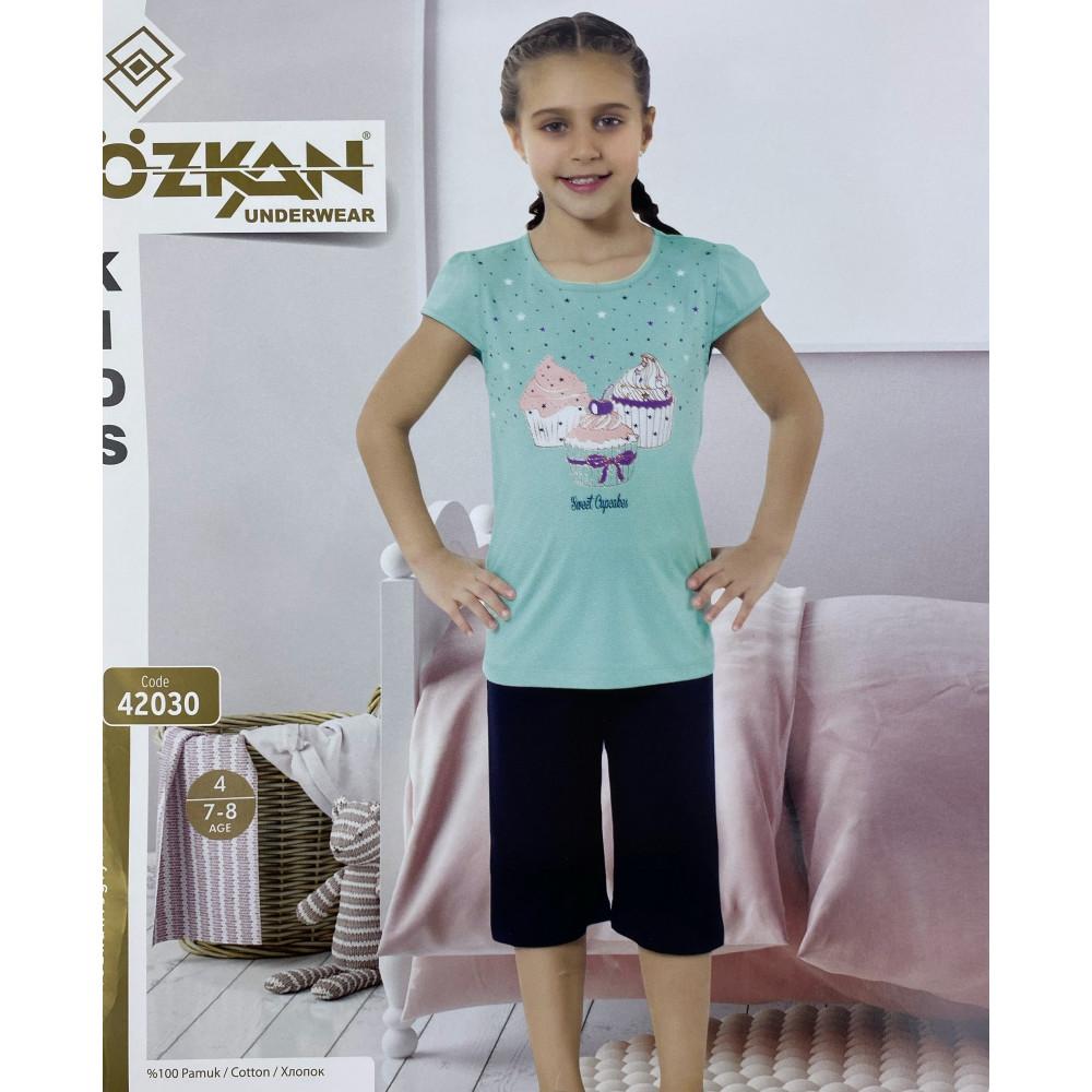 Детский трикотаж для девочек 42030 Ozkan
