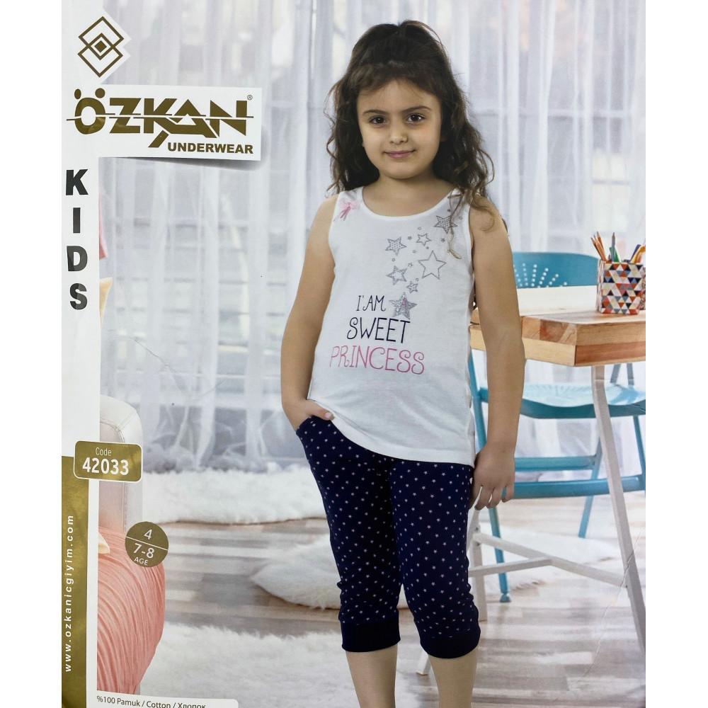 Детский трикотаж для девочек 42033 Ozkan