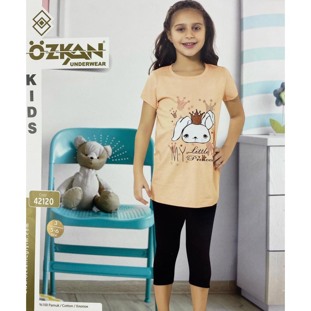 Детский трикотаж для девочек 42120 Ozkan