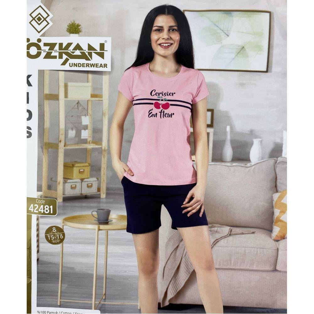 Детский трикотаж для девочек 42481 Ozkan