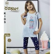 Детский трикотаж для девочек 42494 Ozkan