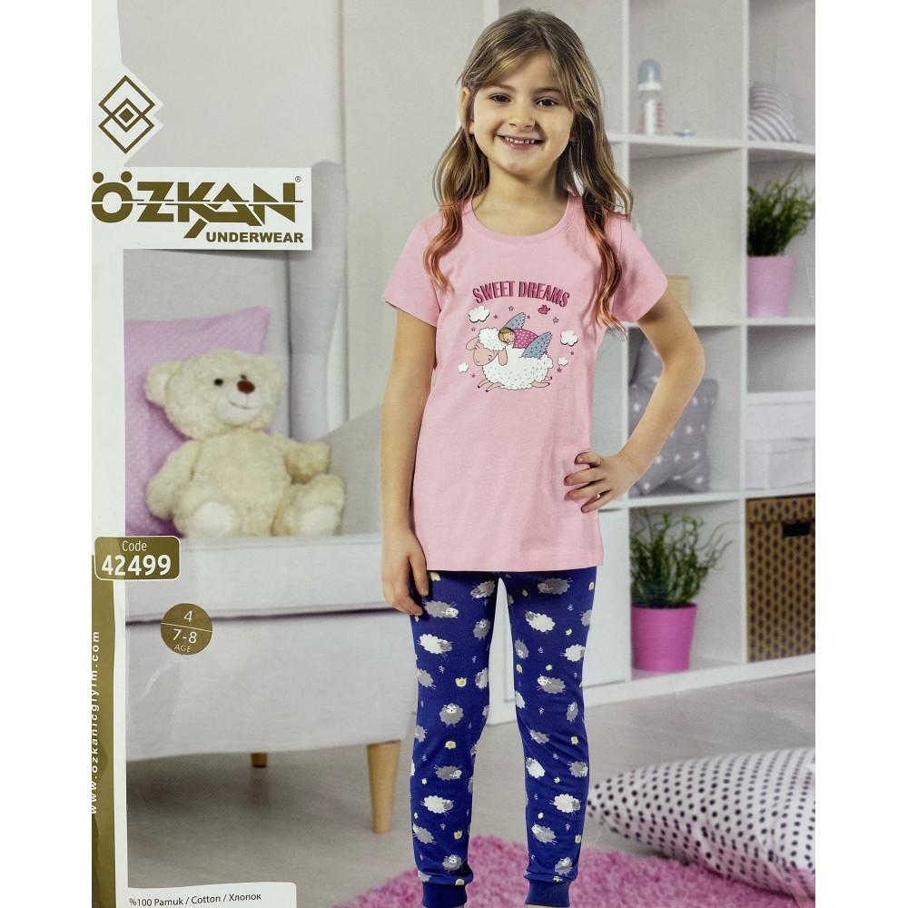 Детский трикотаж для девочек 42499 Ozkan