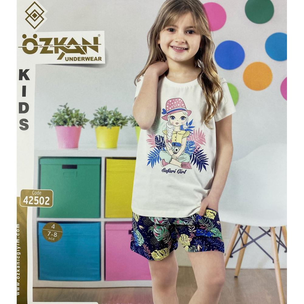 Детский трикотаж для девочек 42502 Ozkan