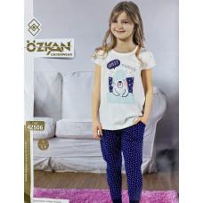 Детский трикотаж для девочек 42506 Ozkan