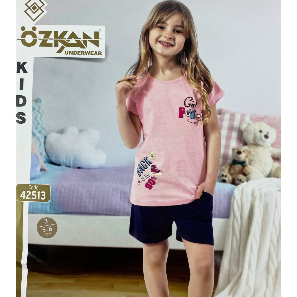 Детский трикотаж для девочек 42513 Ozkan