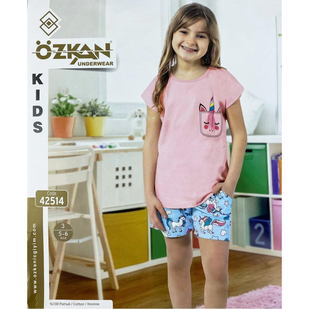 Детский трикотаж для девочек 42514 Ozkan