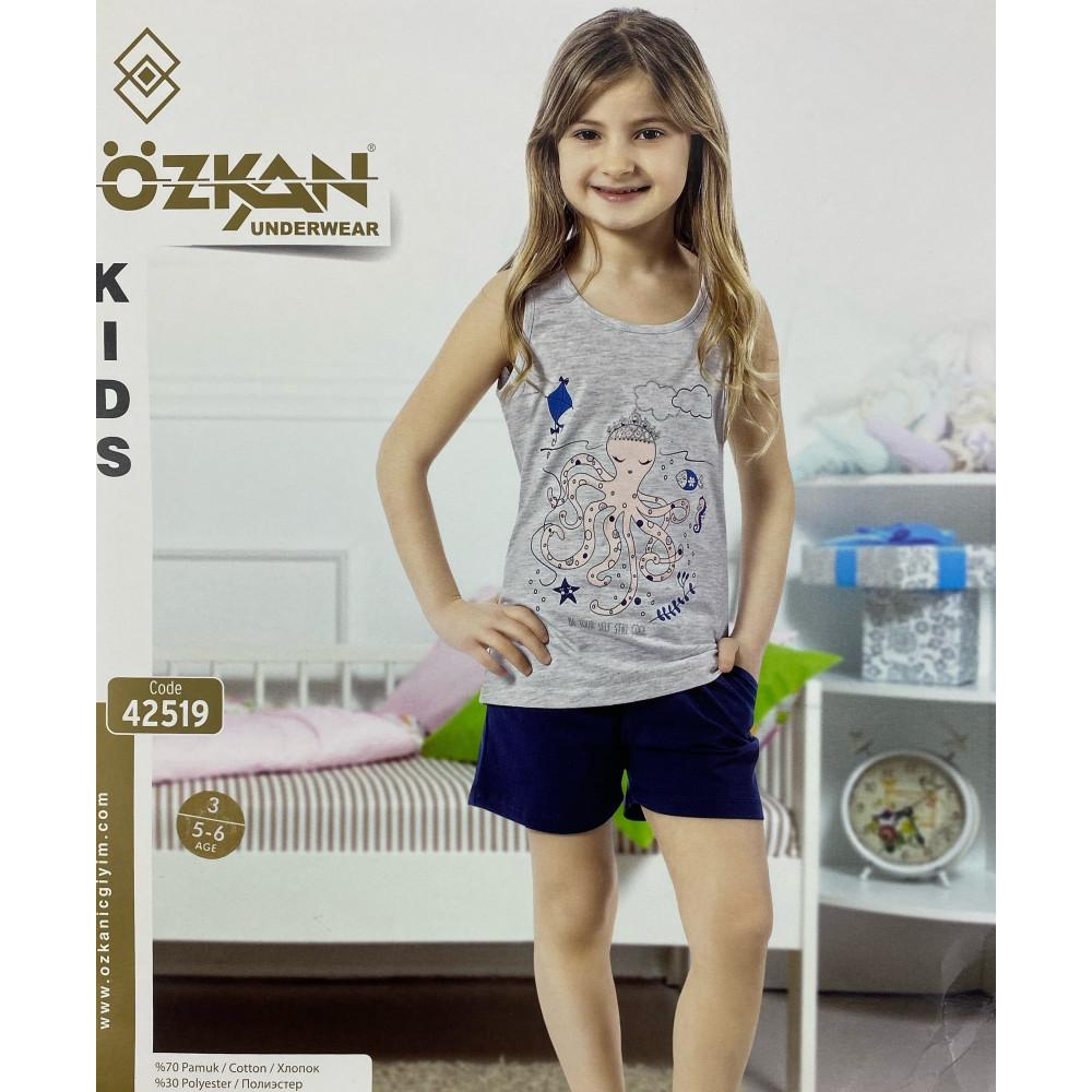 Детский трикотаж для девочек 42519 Ozkan
