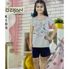 Детский трикотаж для девочек 42521 Ozkan